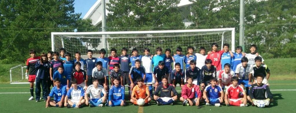 サッカー部集合写真夏2